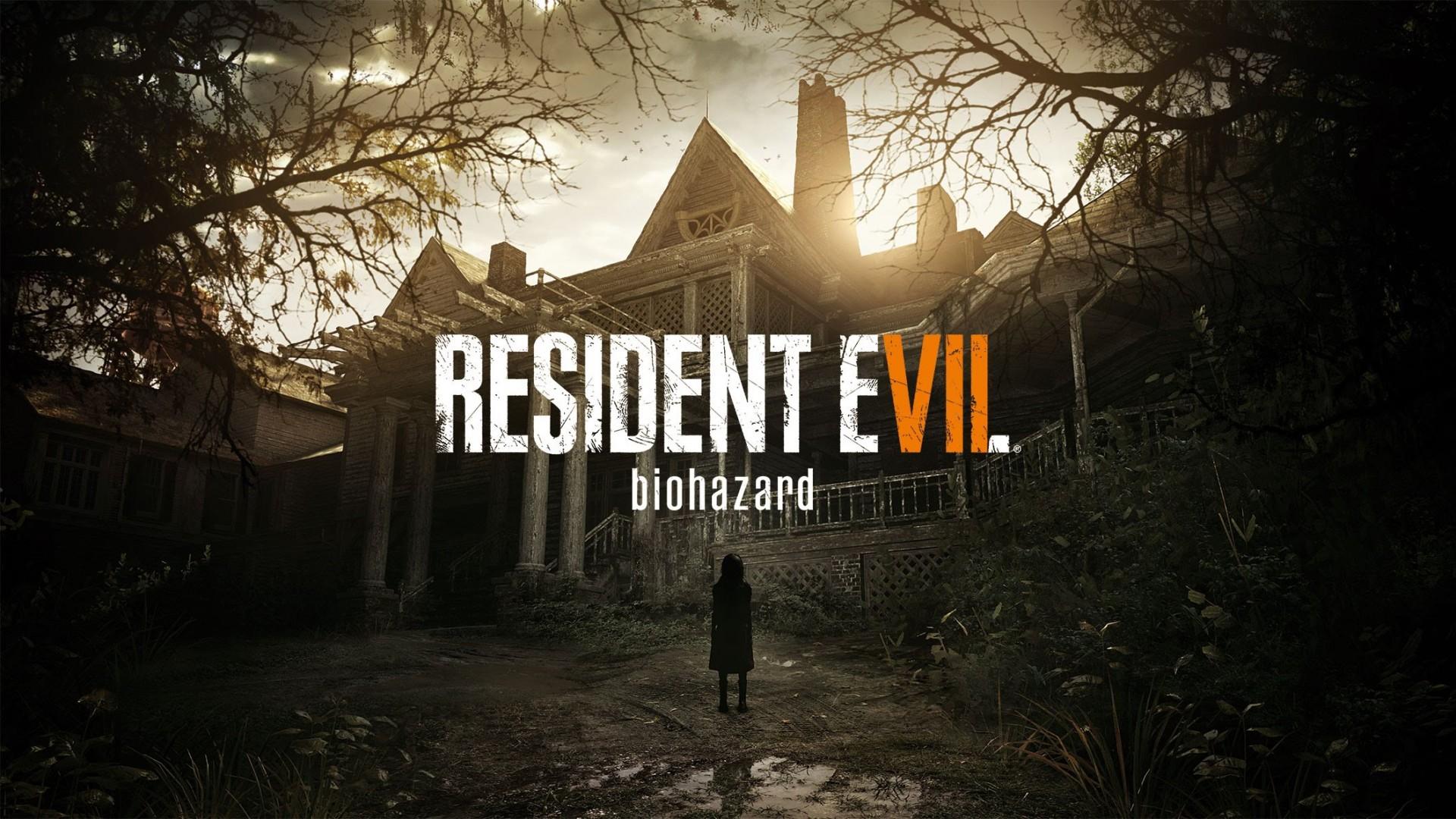 Wallpaper resident evil 7, biohazard, capcom