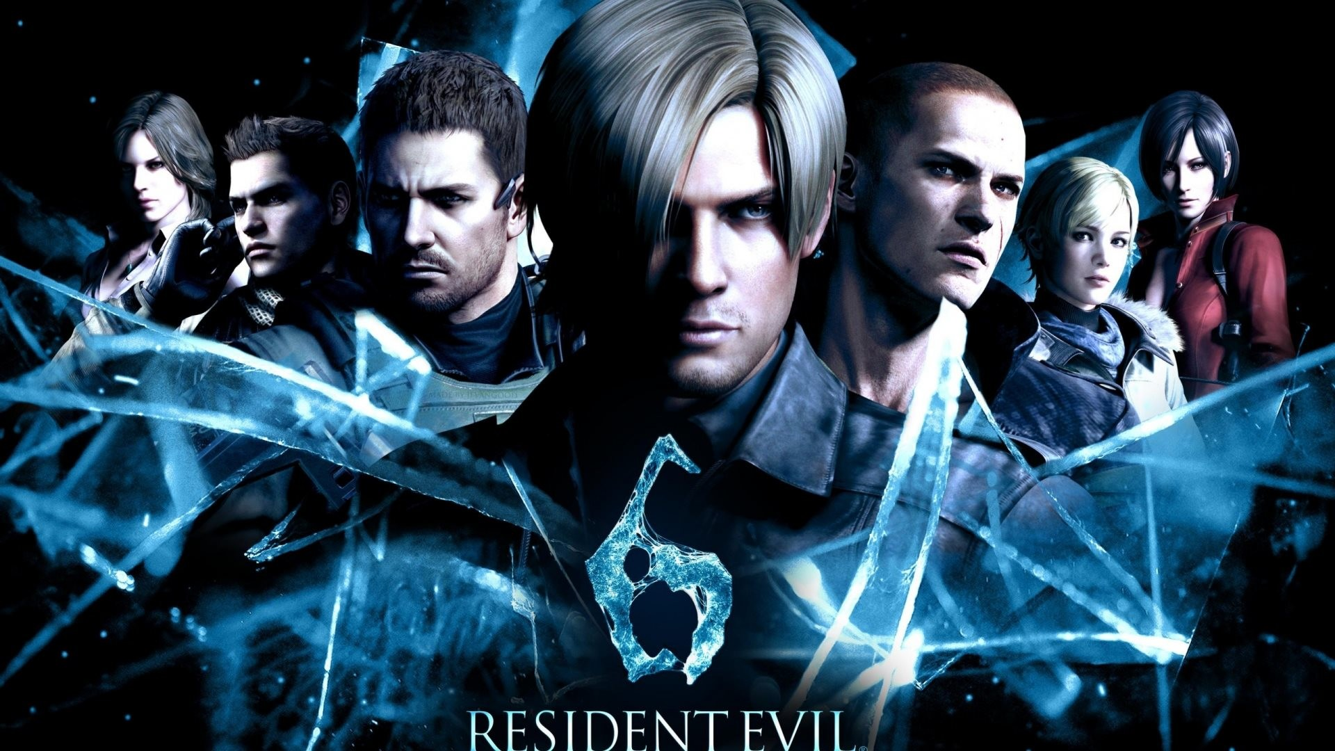 Wide (Desktop / Macbook): 2560×1600 (fits on: 1920×1080, 1440×900,  1280×800). Resident Evil 6 HD