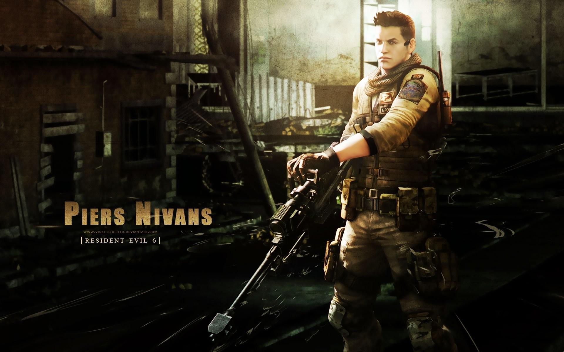 Resident Evil 6 Piers Nivans