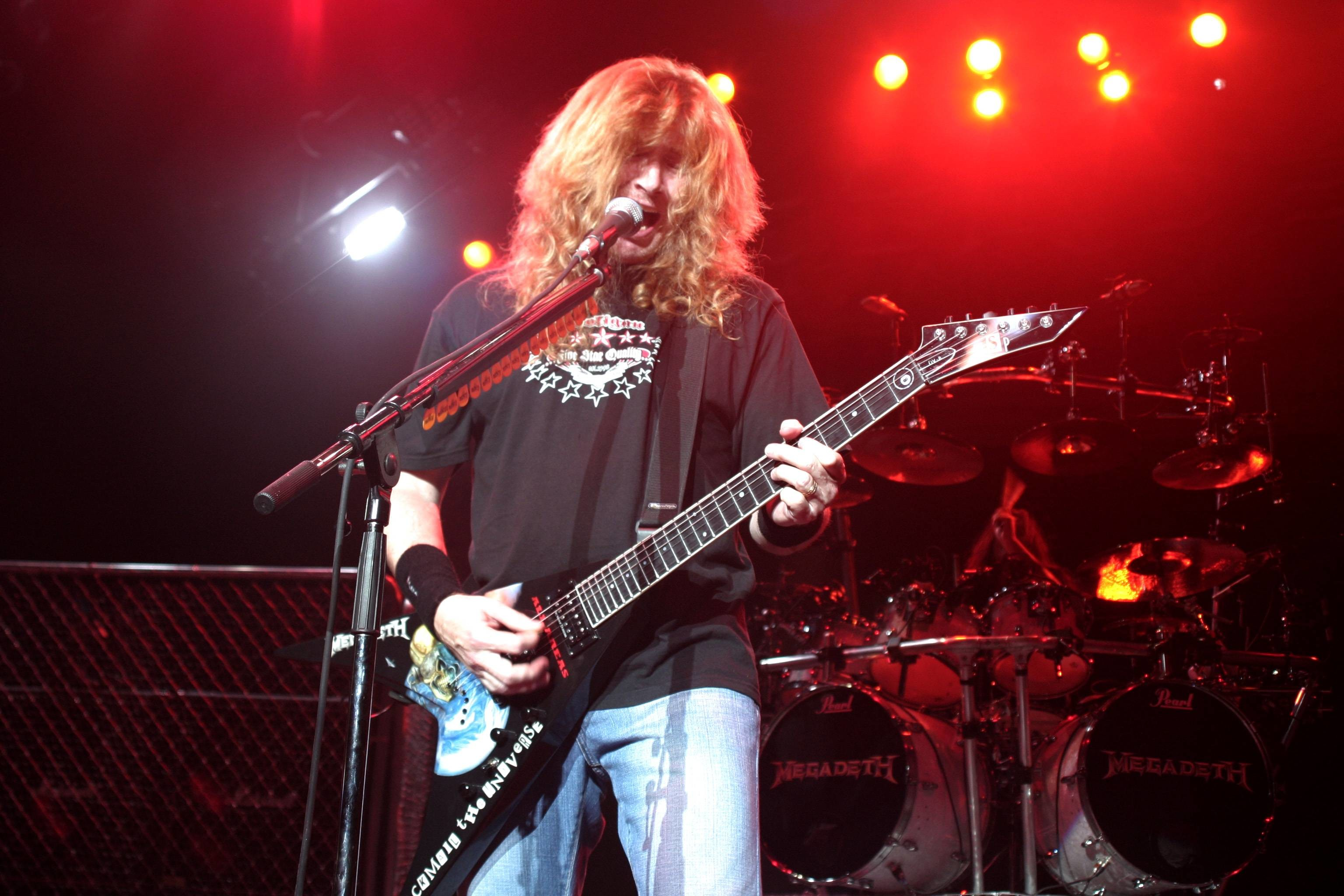 Dave Mustaine Megadeth Wallpaper Hd Other