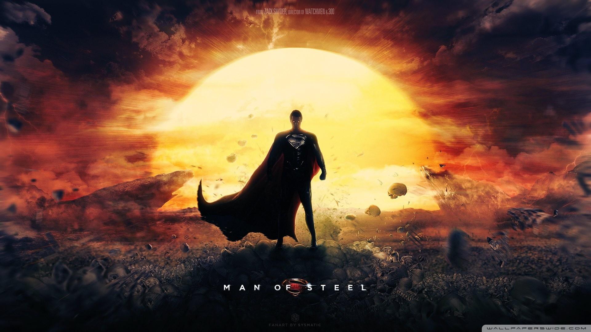 Man Of Steel Wallpaper Superman Movie HD Wide Wallpaper for Widescreen
