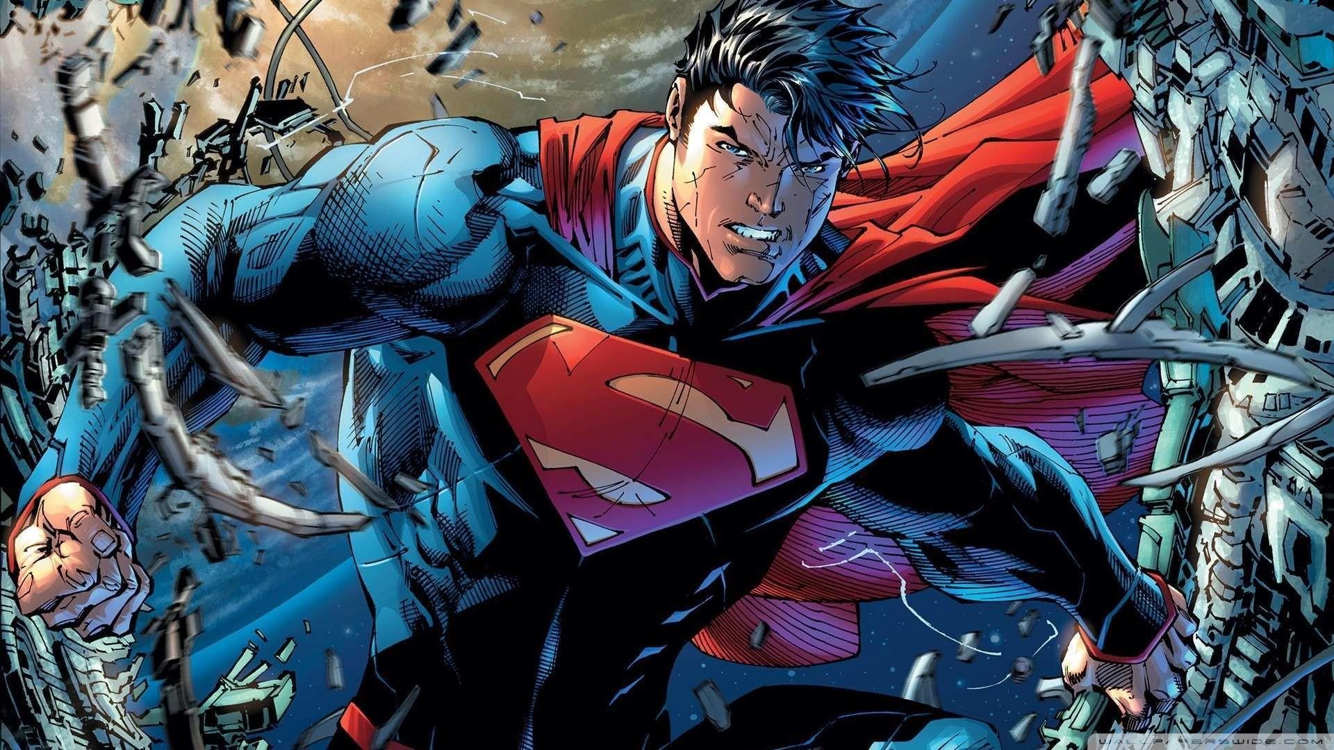 Superman Hd Wallpapers 1080p Wallpapersafari
