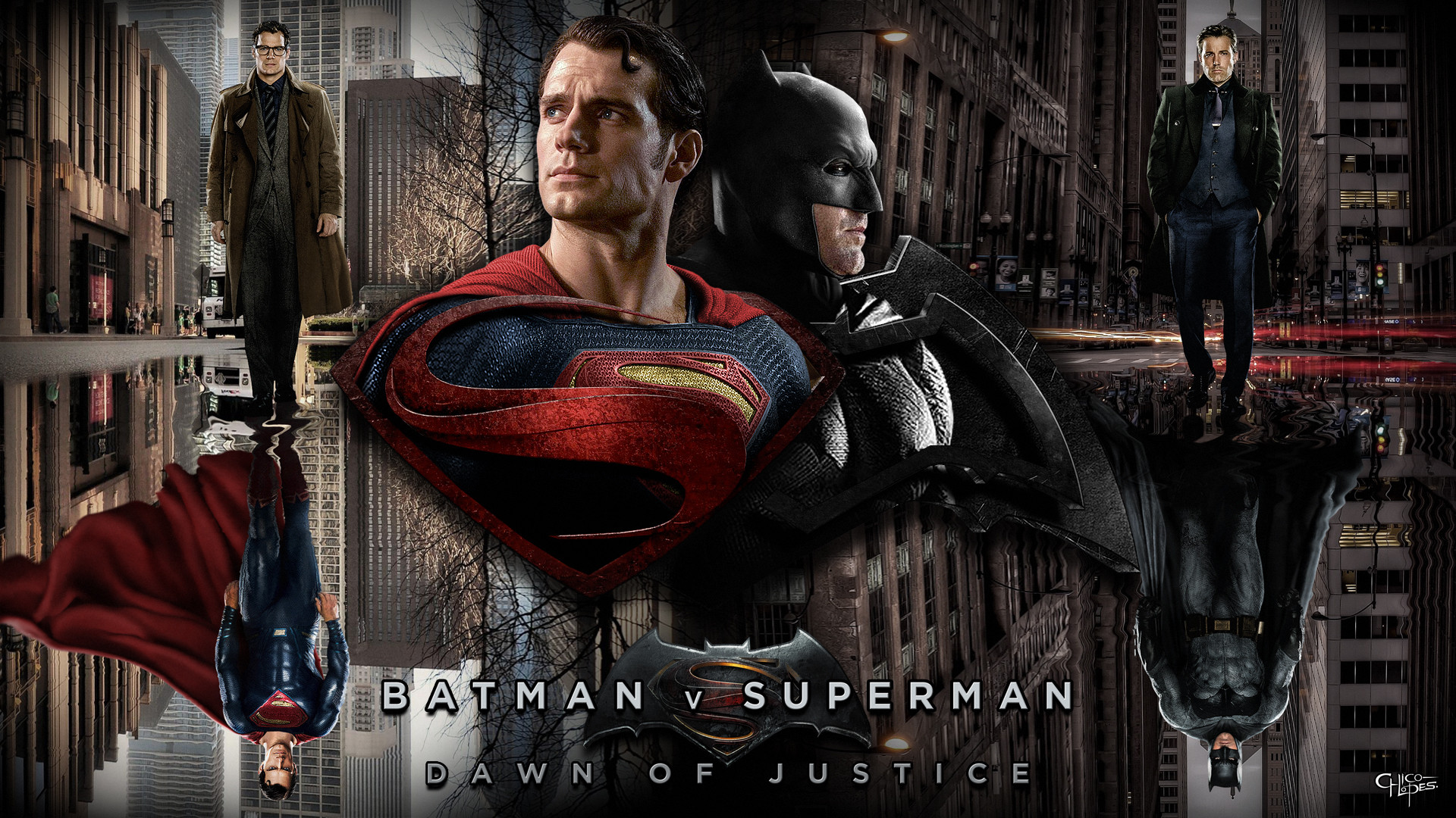 Batman v Superman Wallpaper 1080p by LoganChico.