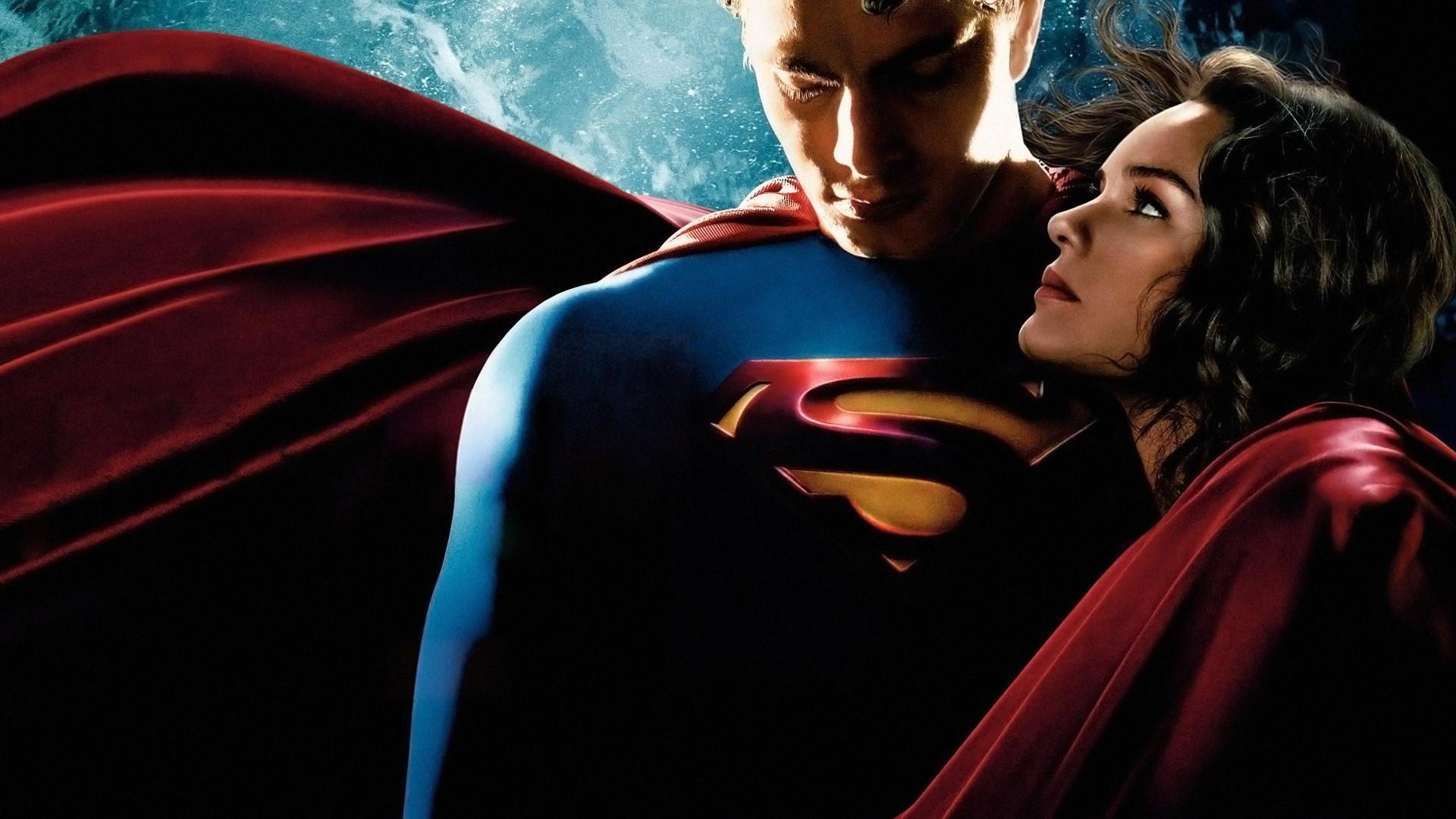 Superman Returns With Lois Lane Wallpaper