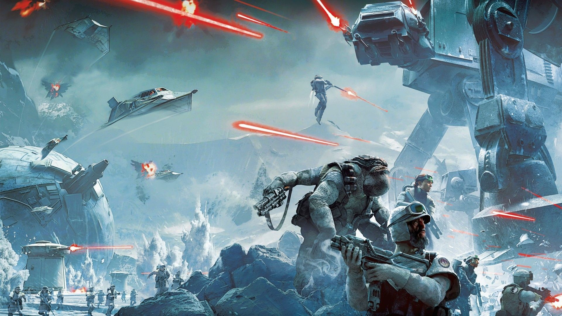 Star Wars Battlefront (1080p) – Wallpaper – Wallpaper Style