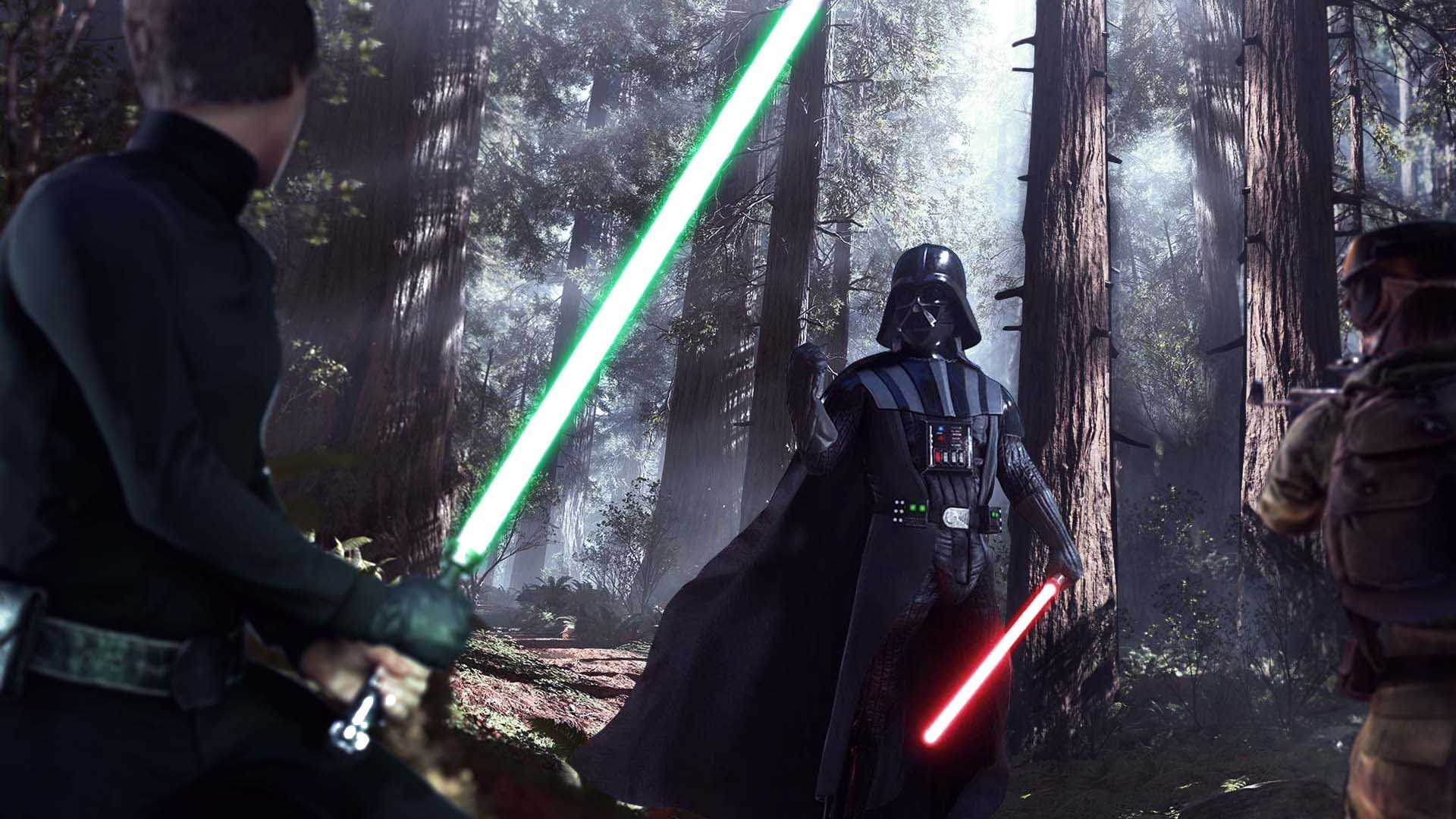 Star Wars Battlefront Luke vs Darth Vader Wallpaper With Download by Gully
