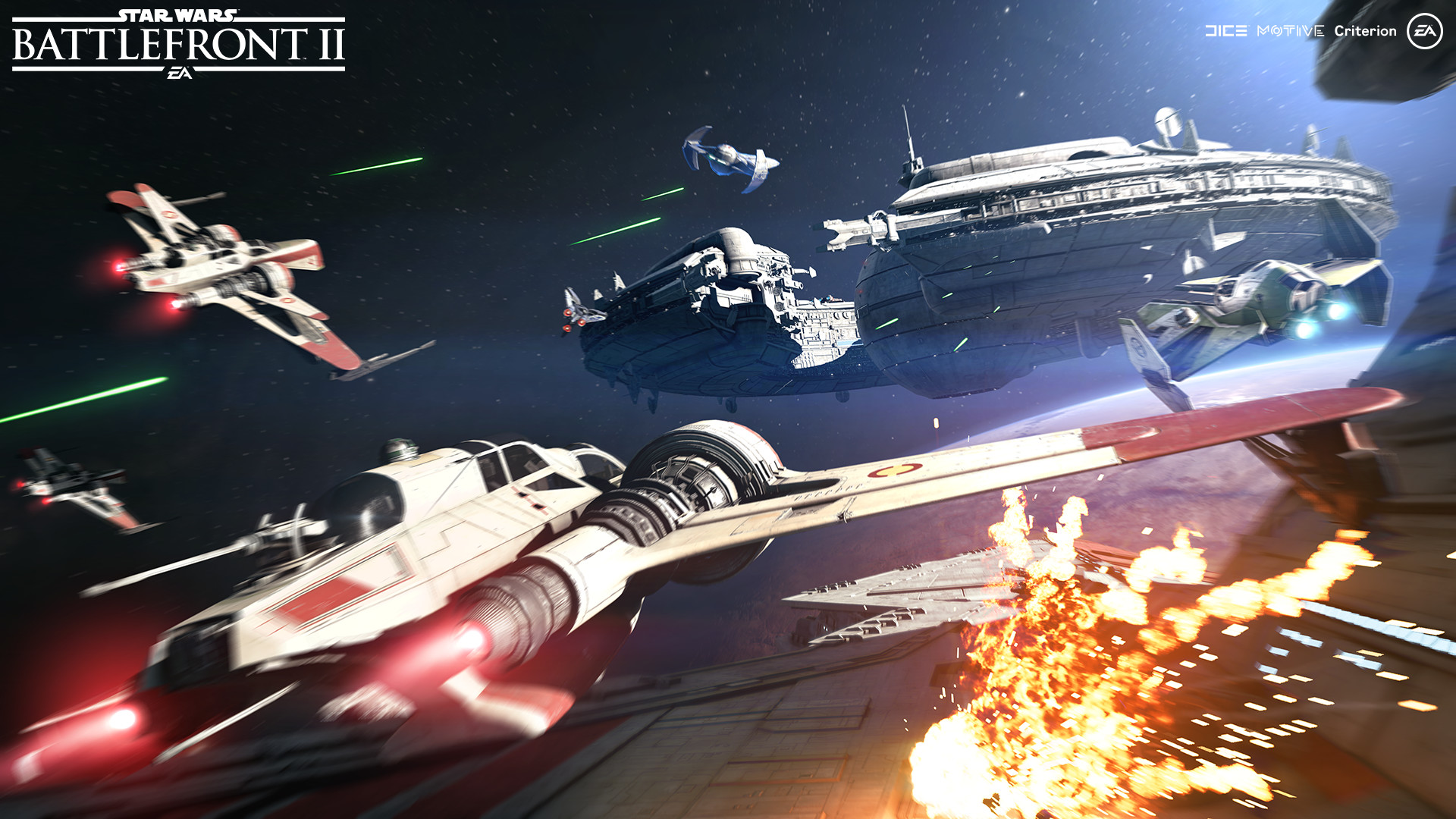 Star Wars Battlefront II Pre-Alpha Runs at 1080P@60 on PlayStation 4 Pro