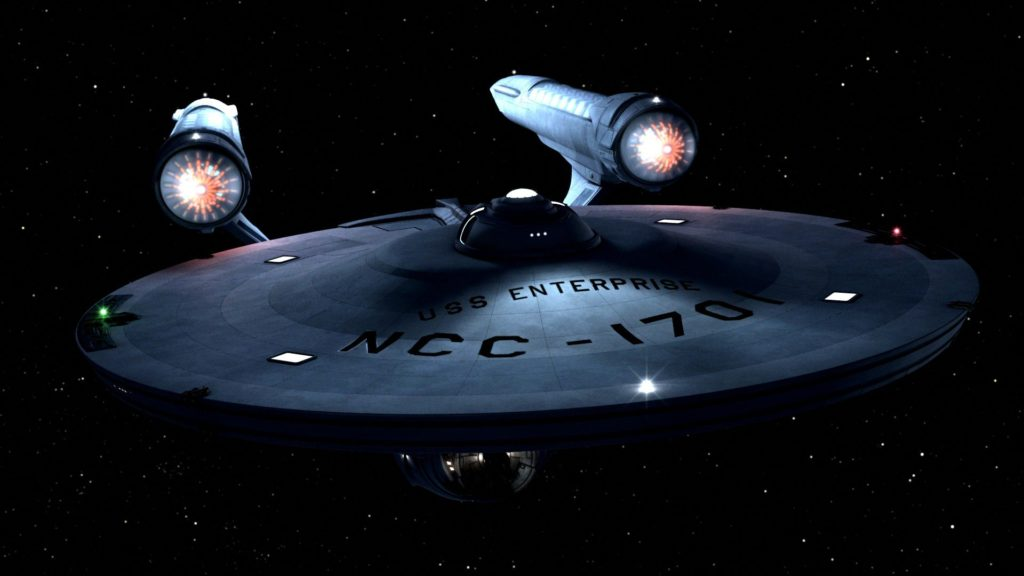 Just a nice image of the TOS Enterprise done in CGI (I think).
