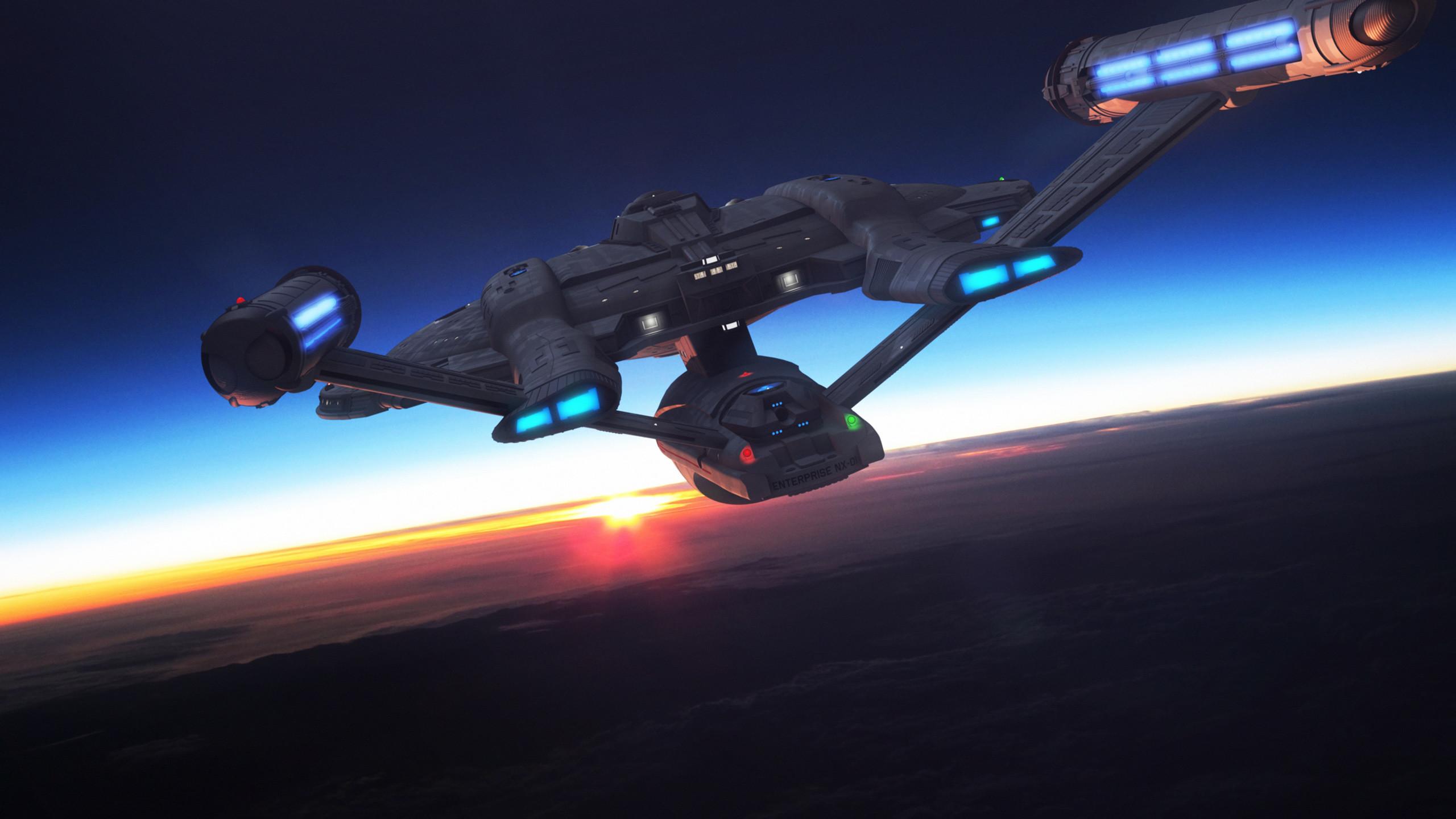 Star Trek USS Enterprise NX01. Free Star Trek computer desktop wallpaper,  images, pictures