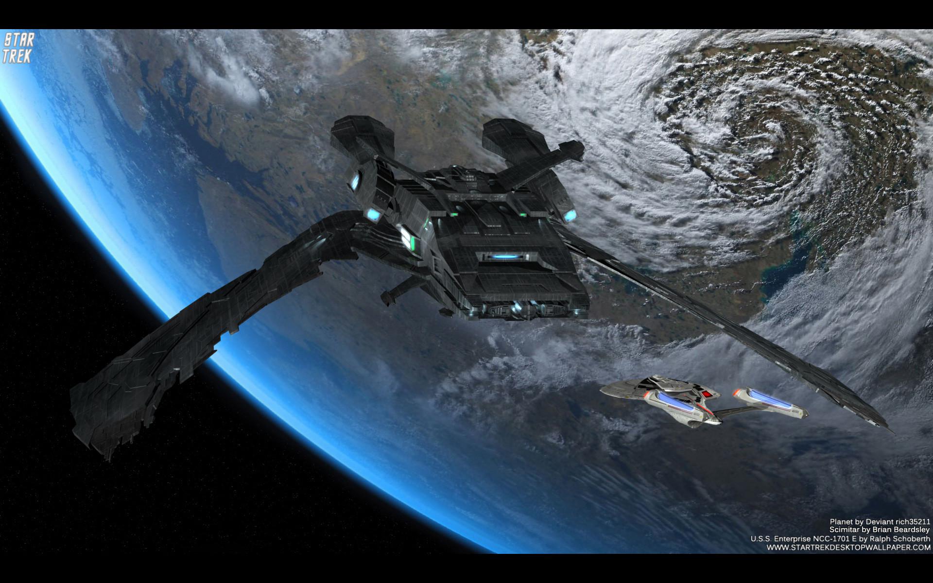 Star Trek Scimitar – free Star Trek computer desktop wallpaper, pictures,  images.