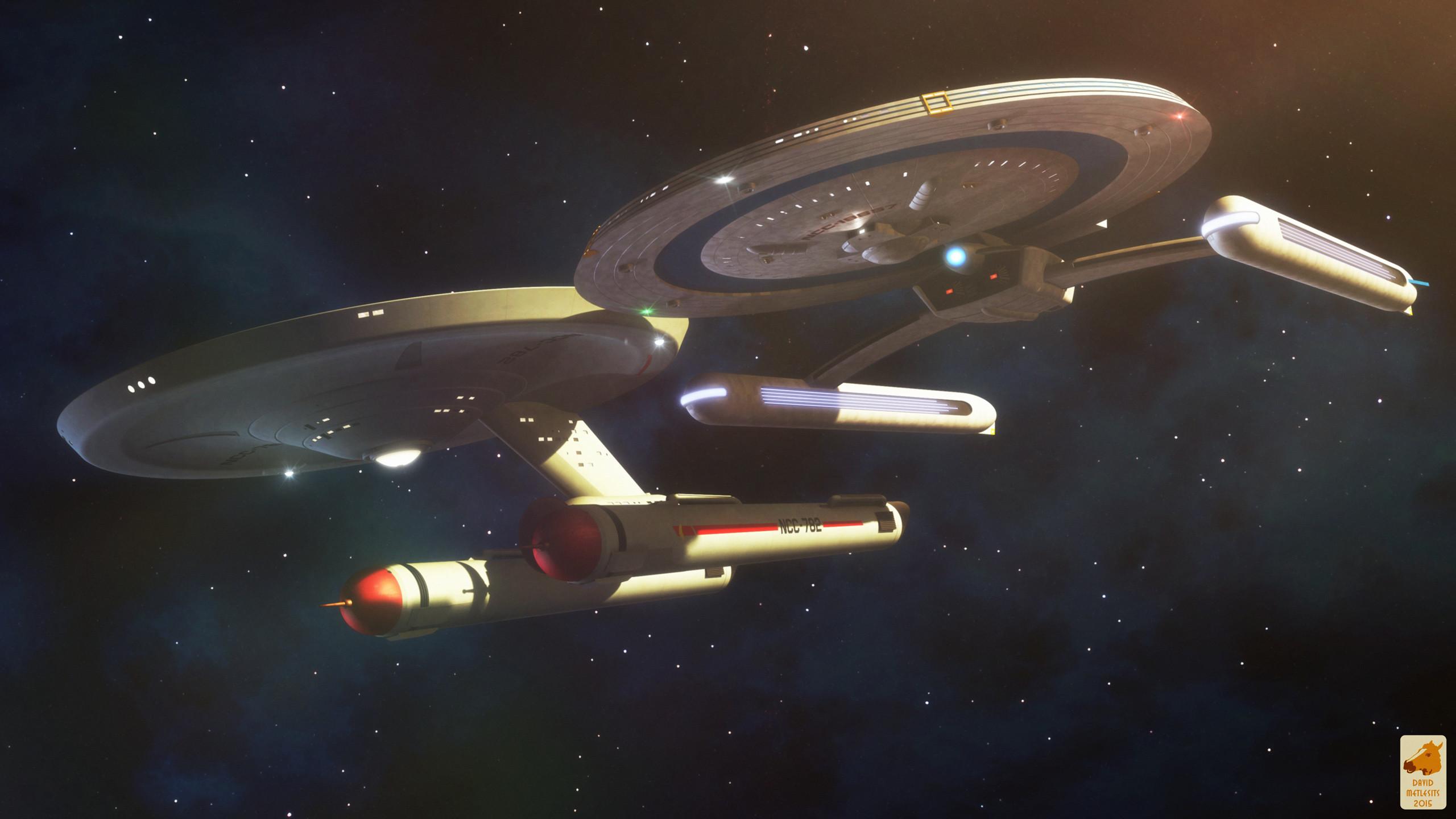 Star Trek USS Polaris And USS Sieglinde. Free Star Trek computer desktop  wallpaper, images