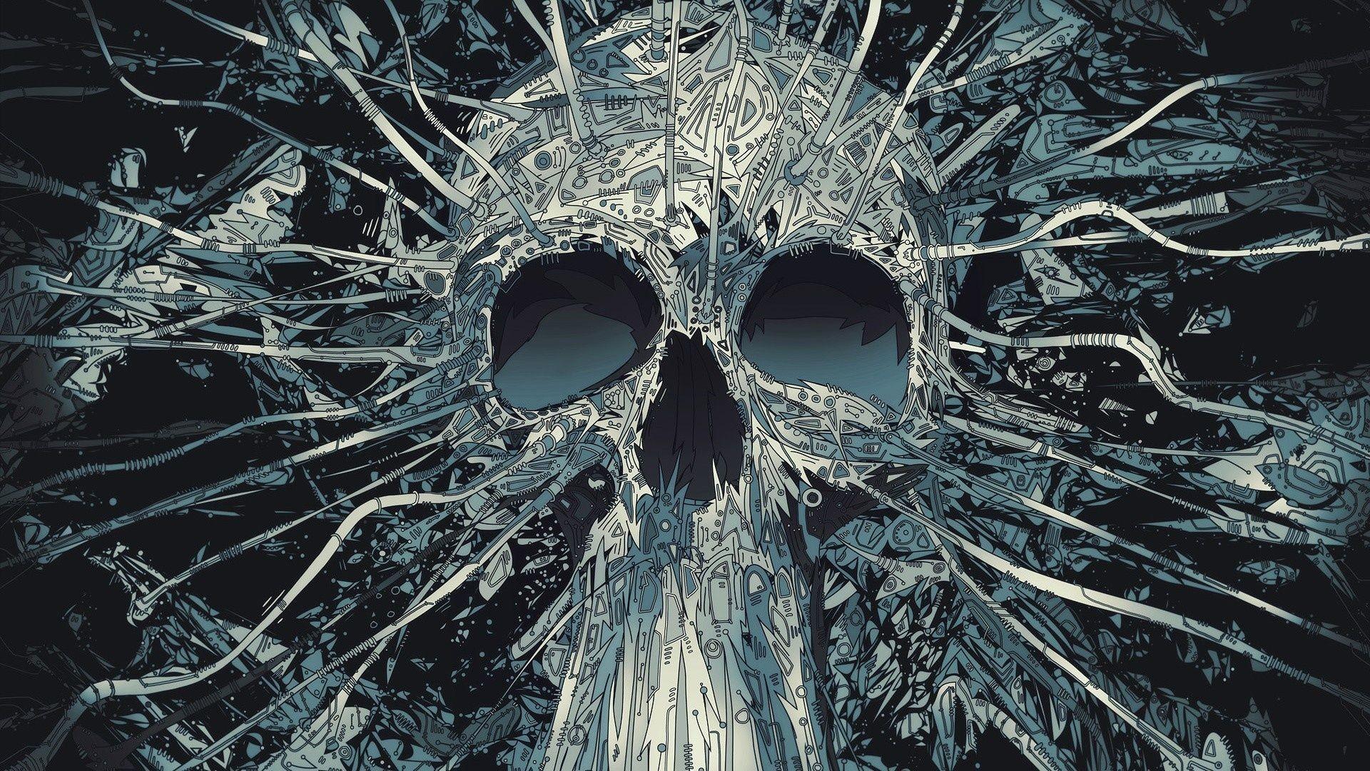 Skull art Wallpaper