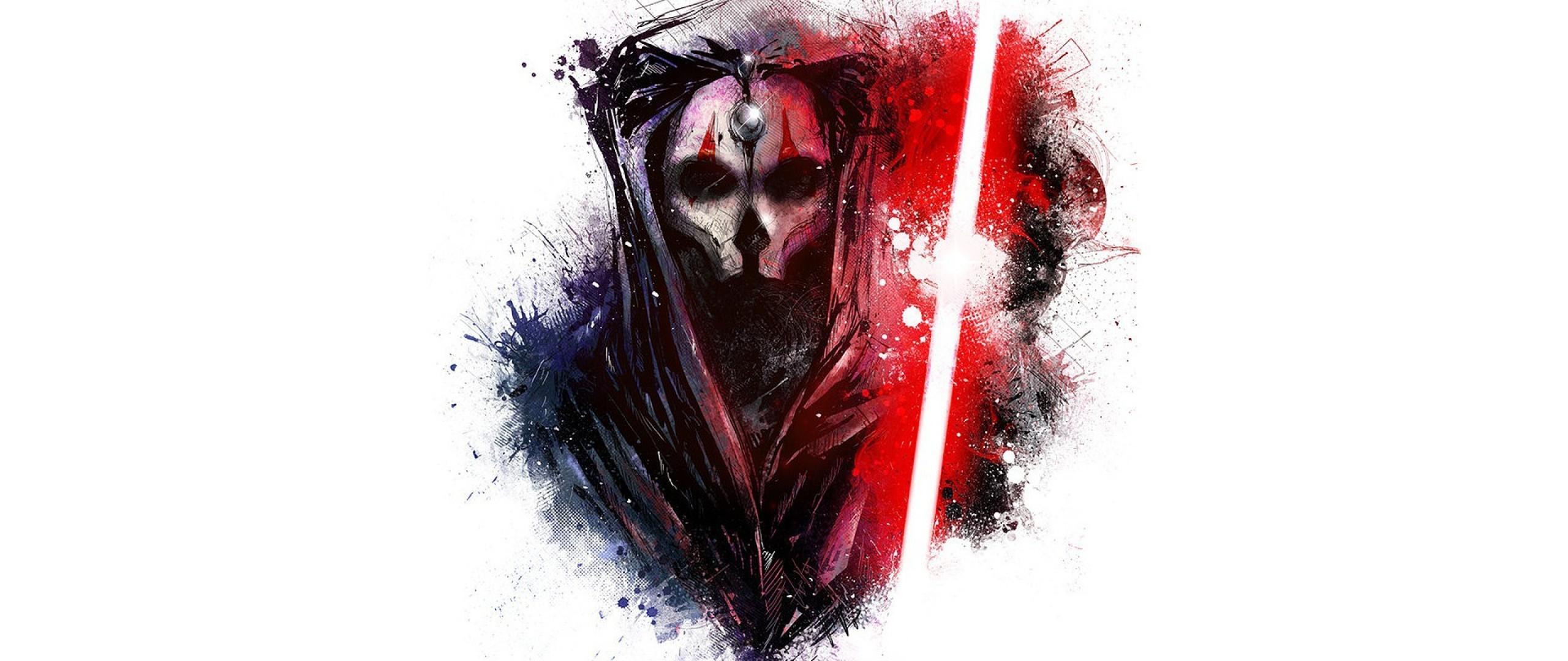 Wallpaper star wars, art, sword, mask