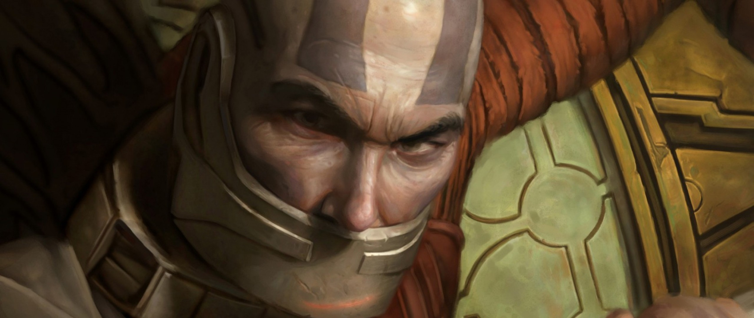 Preview wallpaper star wars, knights of the old republic, man, sword, weapon