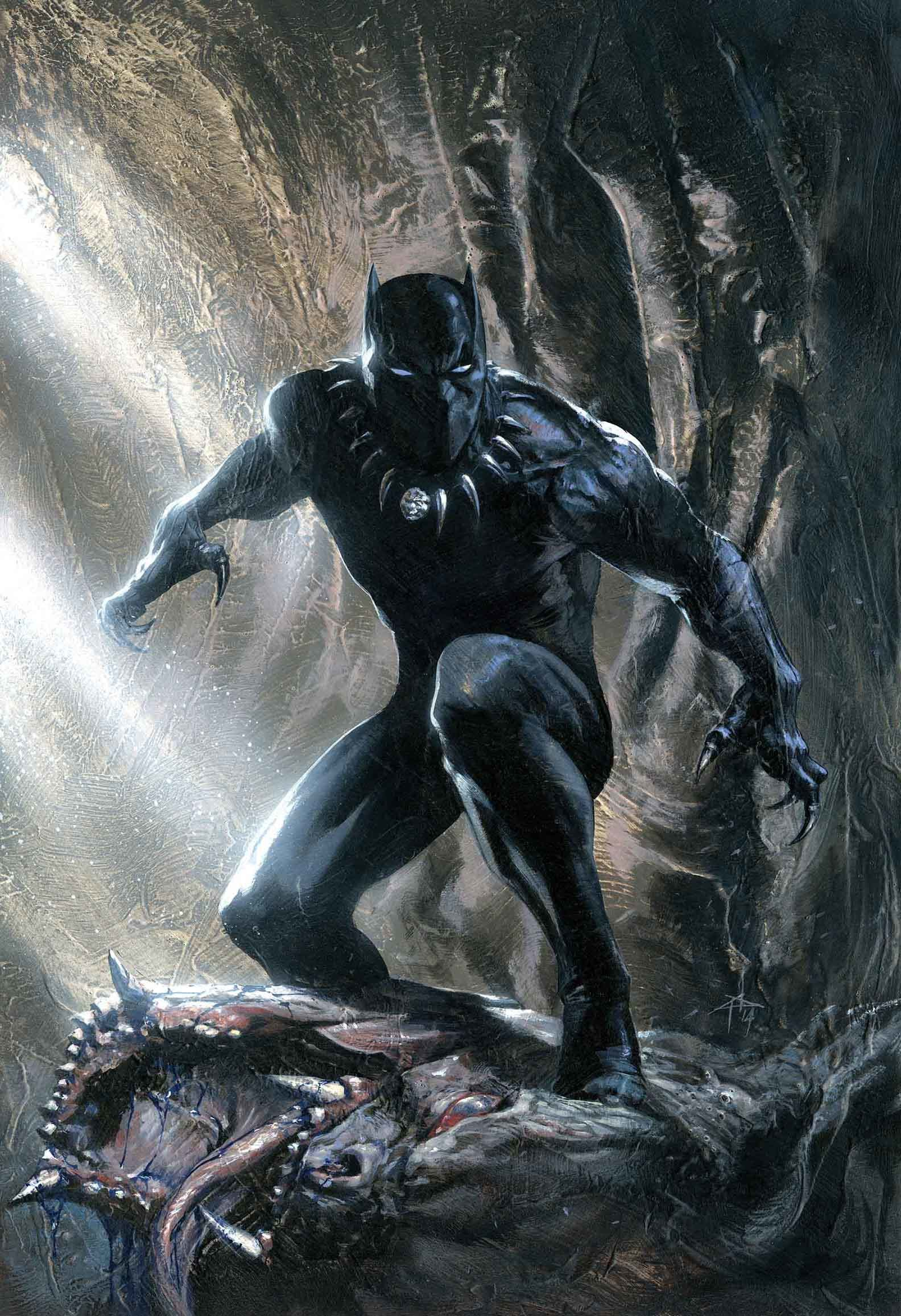 Black Panther (KOD) and Iron Fist: