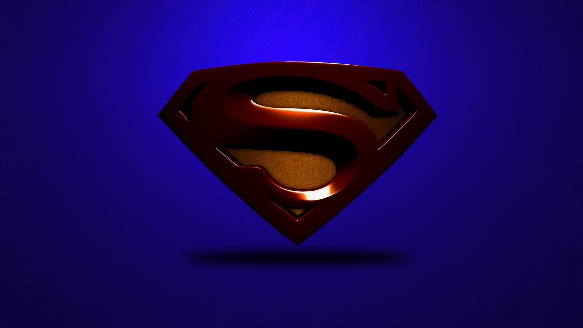 Superman-Logo-Desktop-Wallpaper