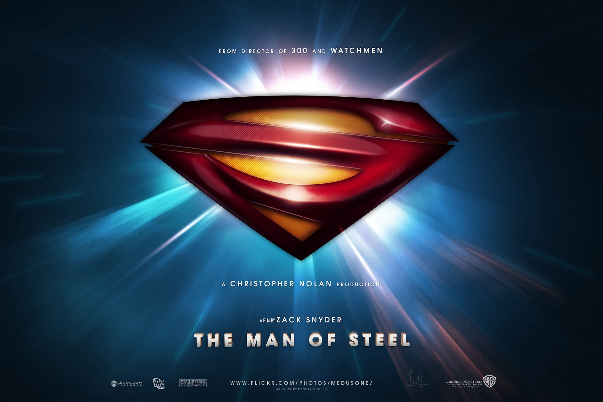 Superman Logo Man of Steel HD Wallpapers