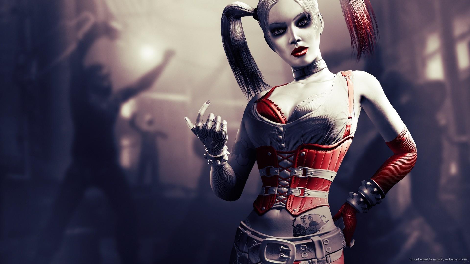 Batman Arkham City Harley Quinn wallpaper