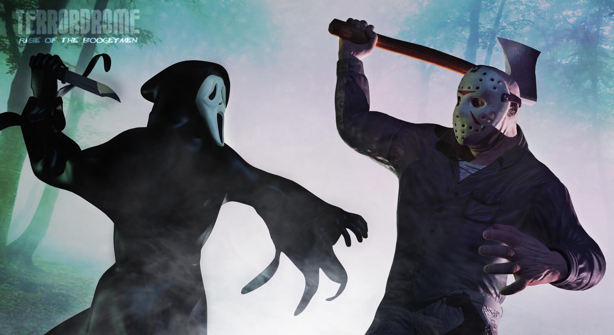 Ghostface vs Classic Jason Voorhees