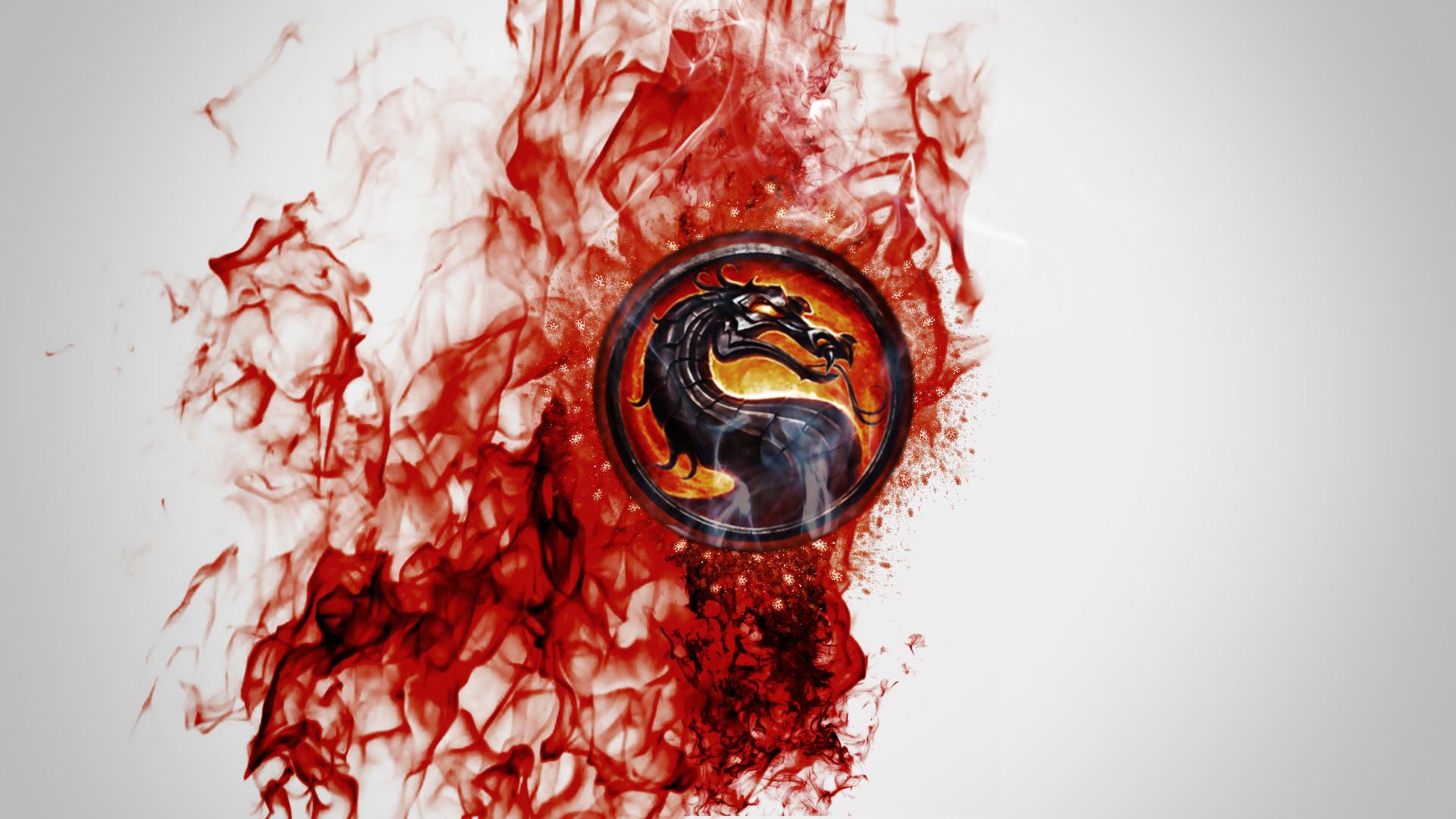 Mortal Kombat wallpaper Dragon in blood Read more