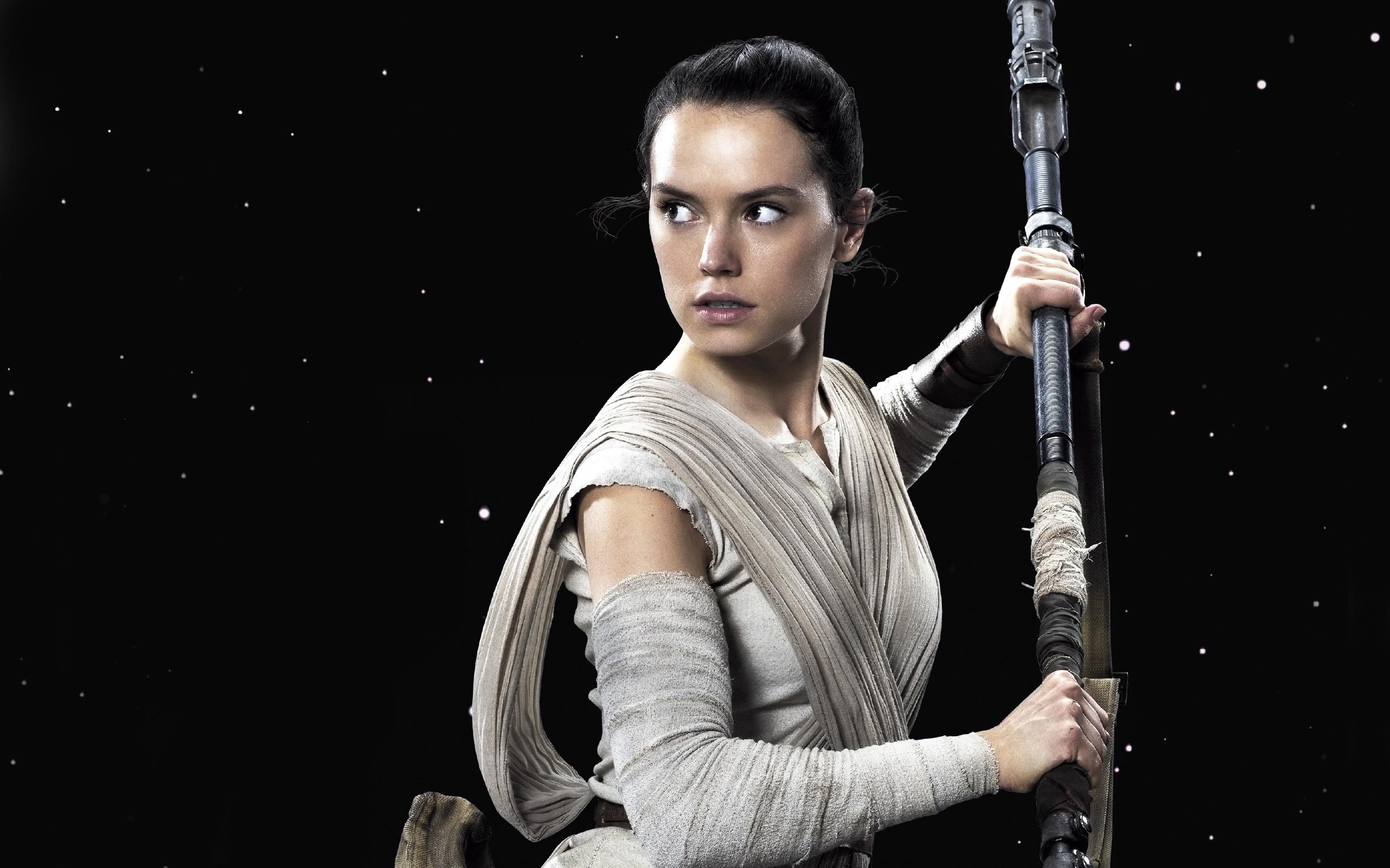daisy ridley rey star wars the force awakens wide Star Wars HD Desktop  Wallpapers for Widescreen
