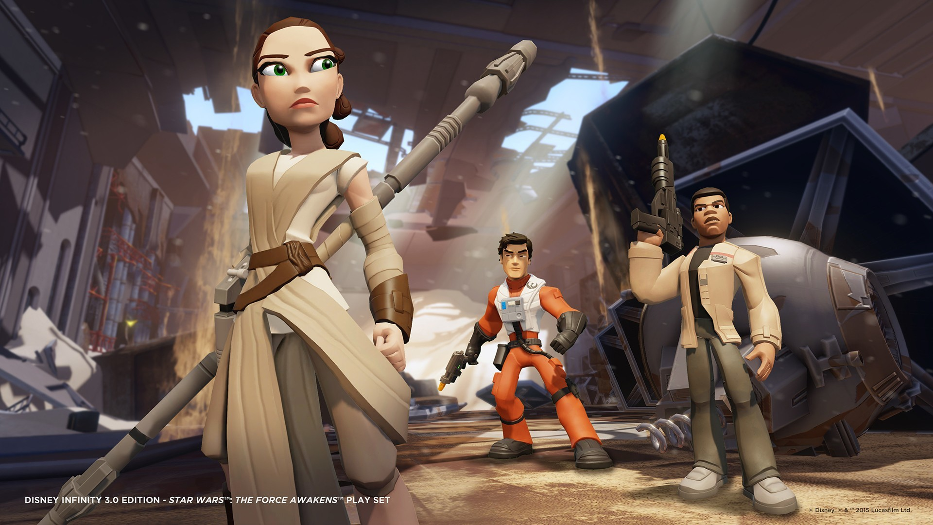 … Disney Infinity – Star Wars: The Force Awakens Play Set toy …