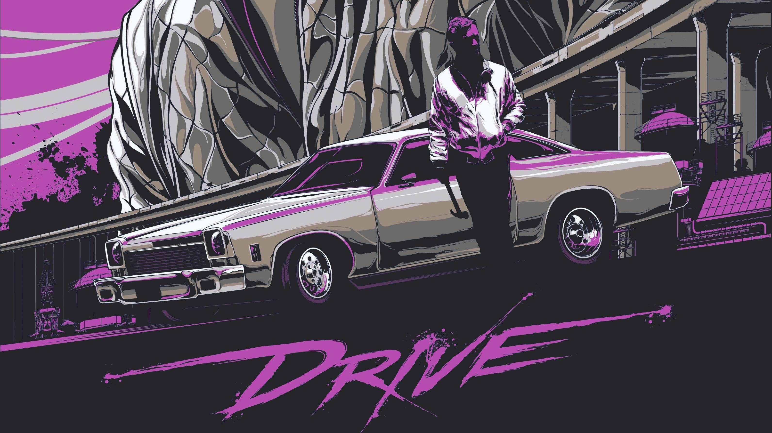 Images For > Drive Movie Wallpaper
