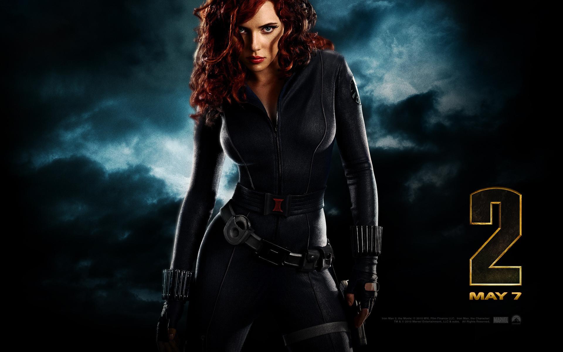 Black Widow Wallpaper