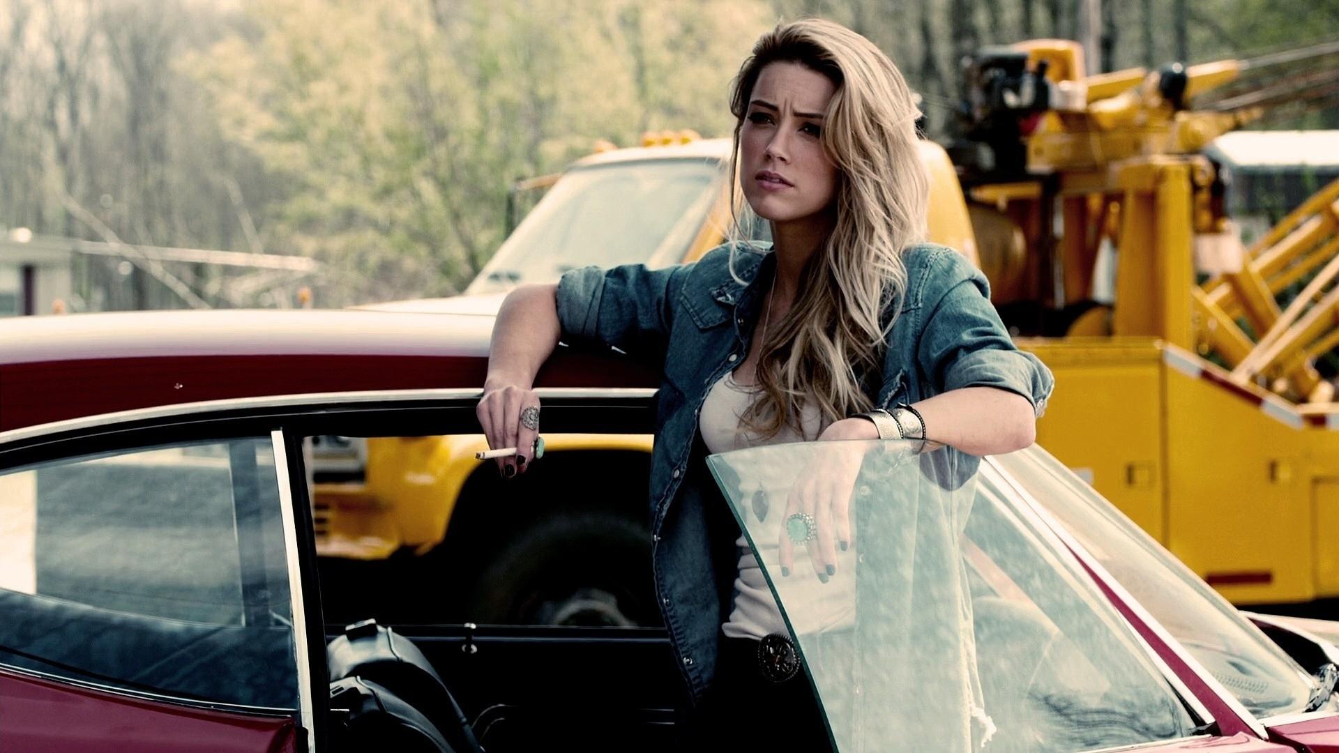 Amber Heard Movie Drive Angry HD Wallpaper