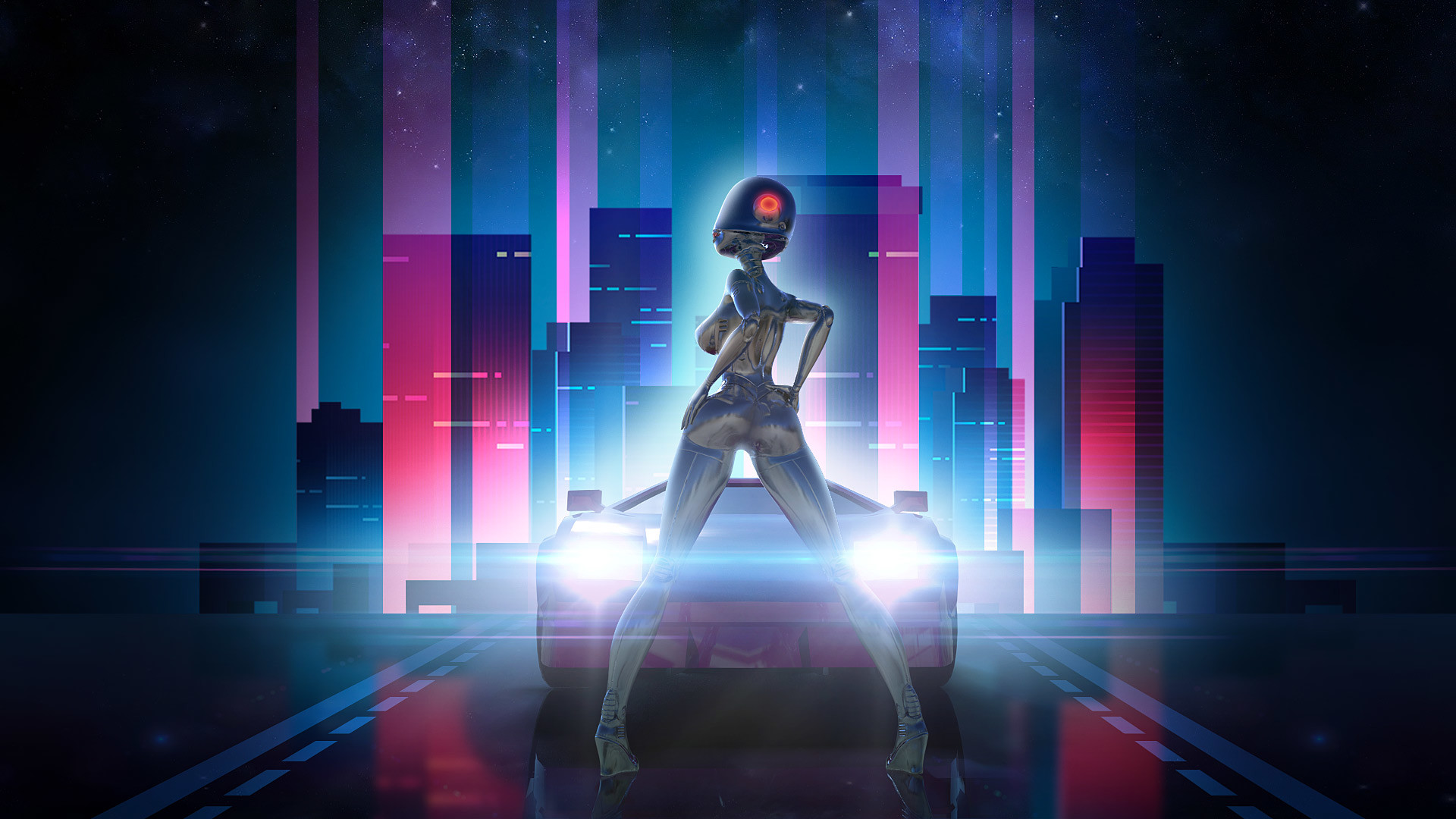 Neon Drive PS4 Review – A Rhythmic Reminder Of The Awesome 80's – FNGR GNS