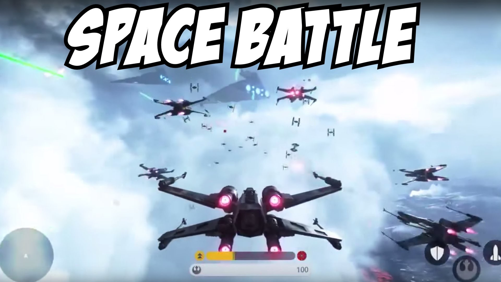 Star Wars Battlefront 3 Gameplay Fighter Squadron Mode Space Battle?  Trailer PS4 Xbox One PC – YouTube
