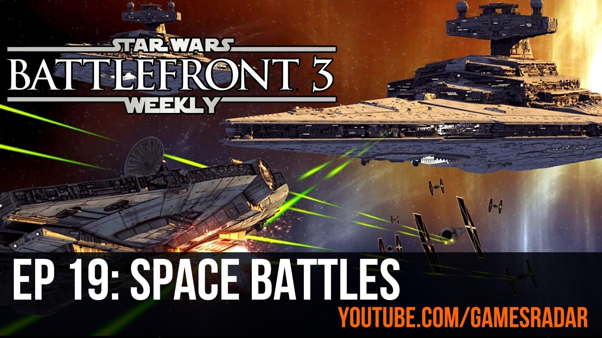 Star Wars Battlefront 3 Weekly – Episode 19: How Star Wars games handle space  battles – YouTube