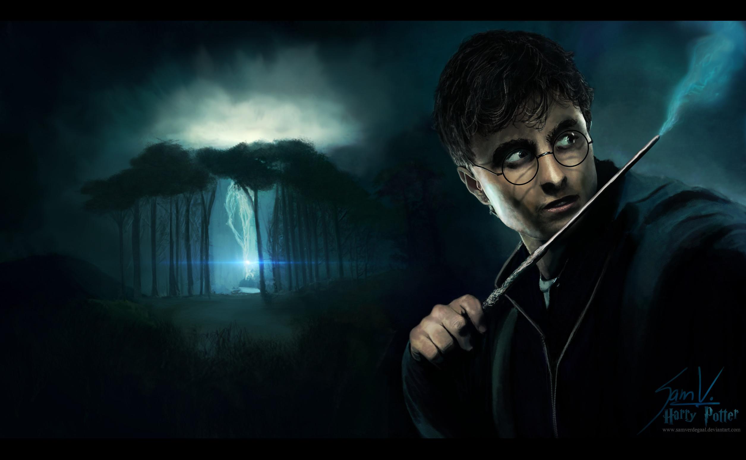 Harry Potter – Wallpaper by SamVerdegaal Harry Potter – Wallpaper by  SamVerdegaal