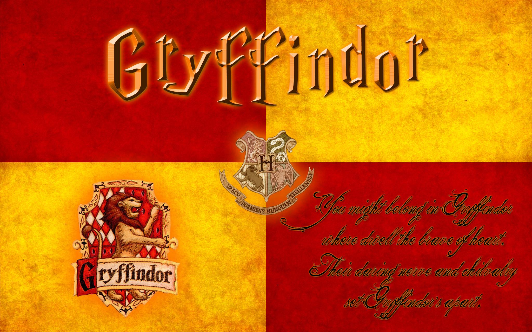 Harry Potter Gryffindor Wallpaper