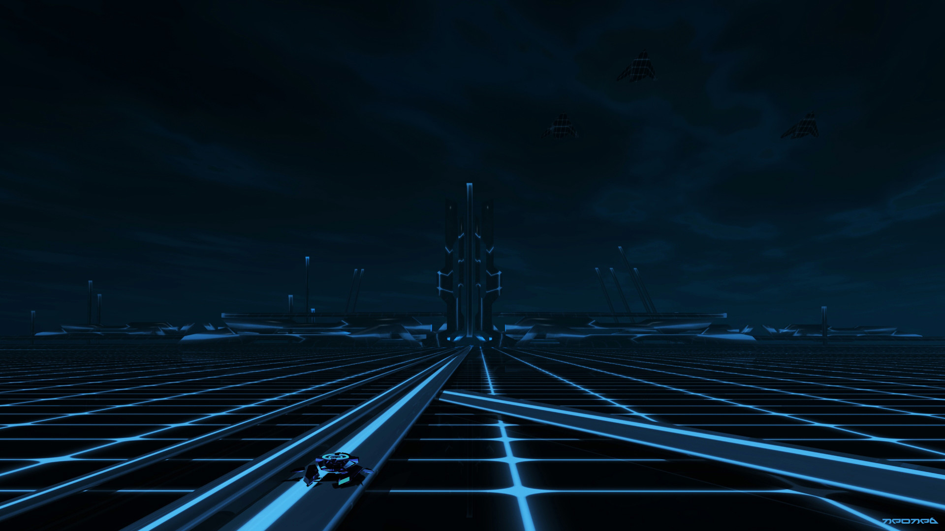 WinCustomize: Explore : Wallpapers : TRON The grid
