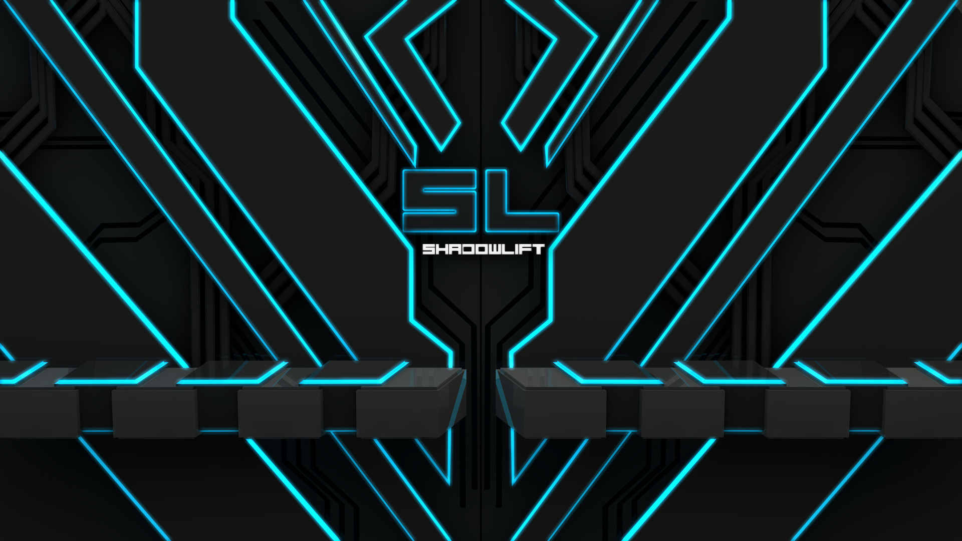 … SL-Tron Style 1080p Background by Shadowlift
