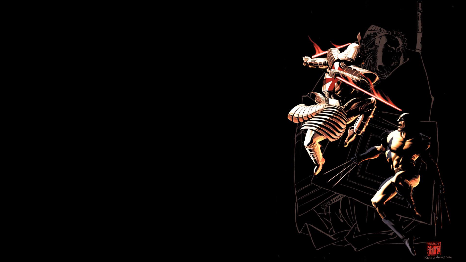 Comics – Wolverine Comic Superhero Azrael (DC Comics) Wallpaper