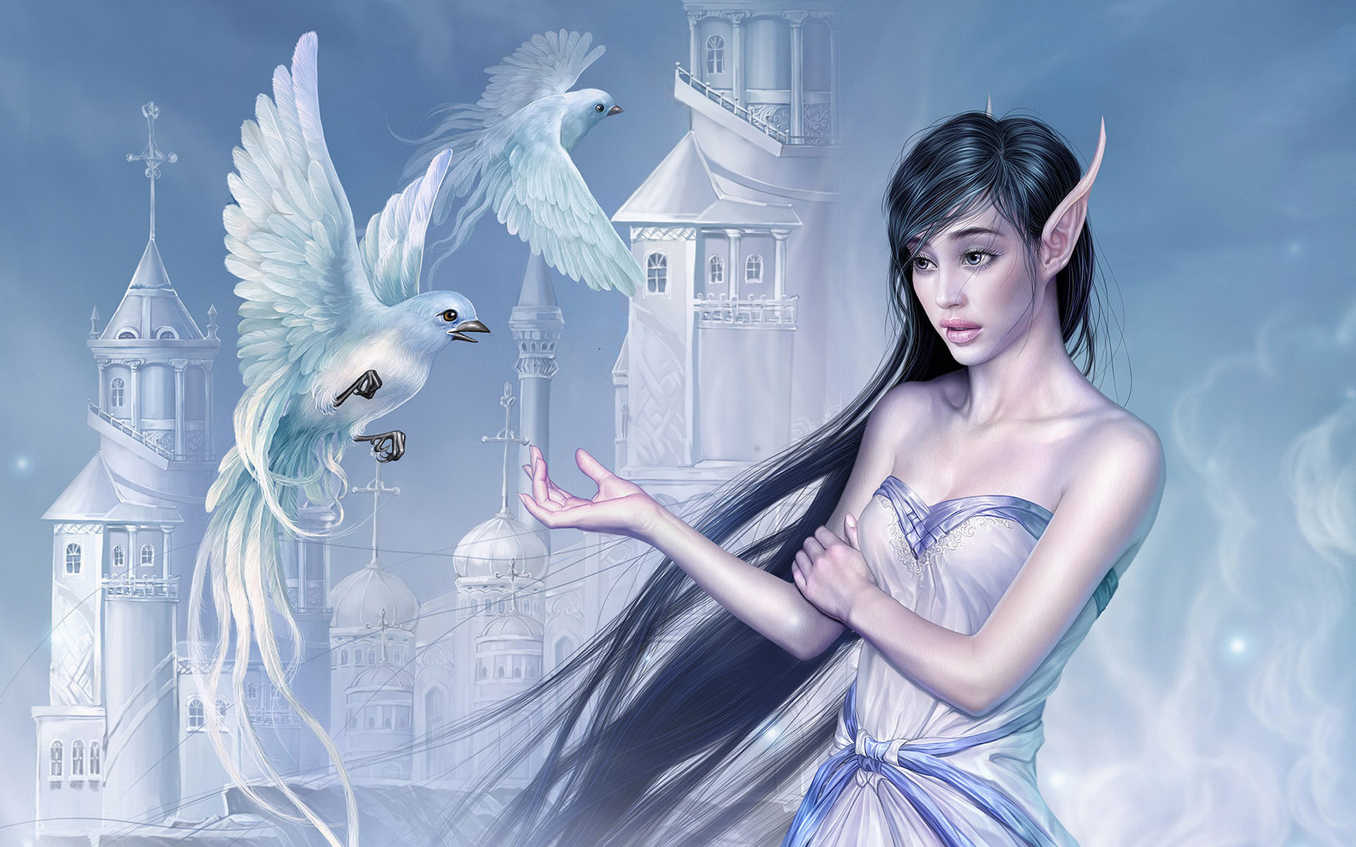 Elf girl wallpapers and images – wallpapers, pictures, photos