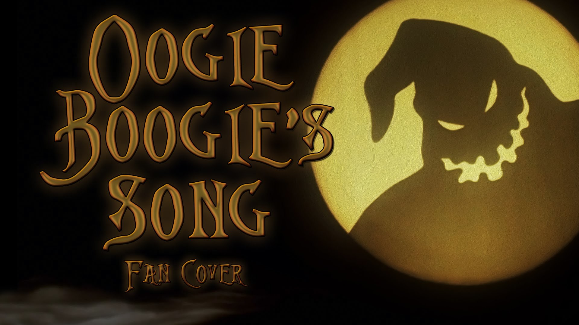 Oogie Boogie Song – The Nightmare Before Christmas fan cover (Disney  Villain Month) [RtG]