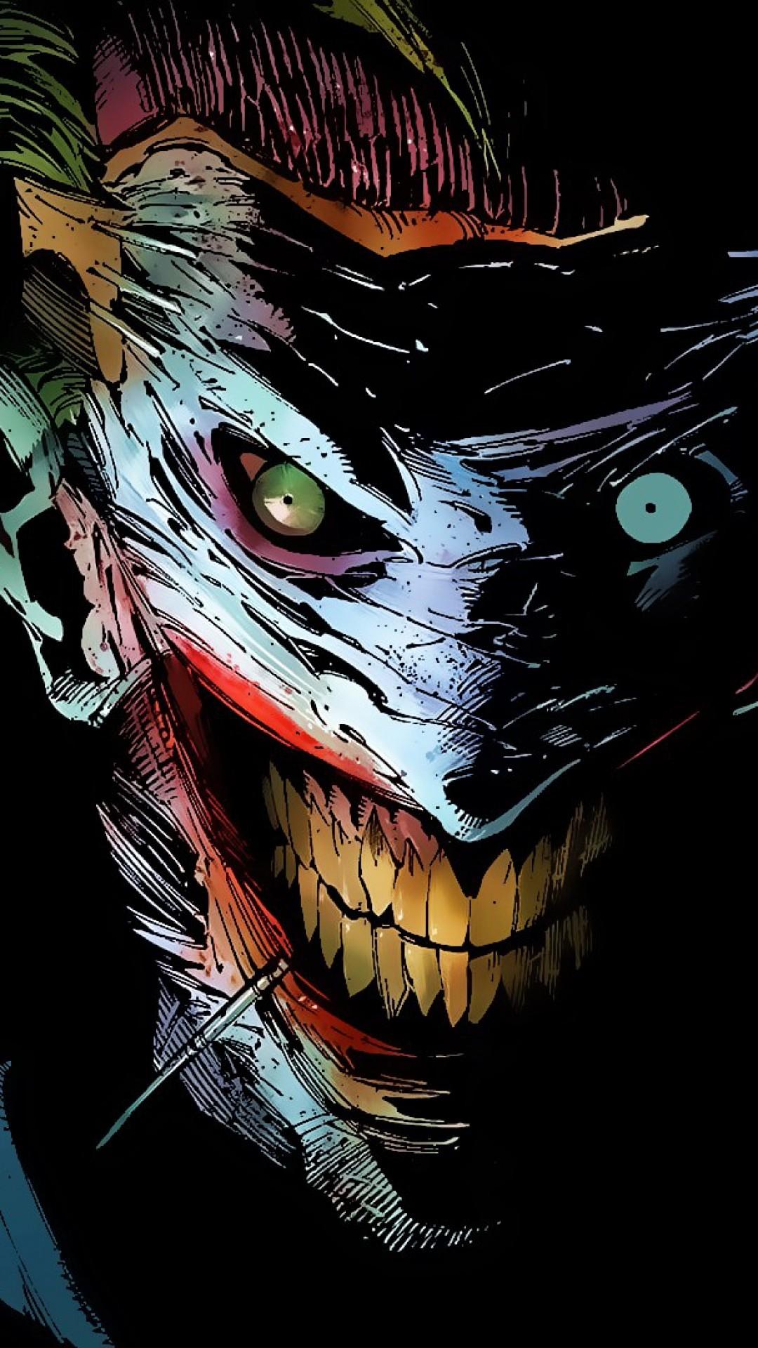 Preview wallpaper joker, dc comics, art 1080×1920