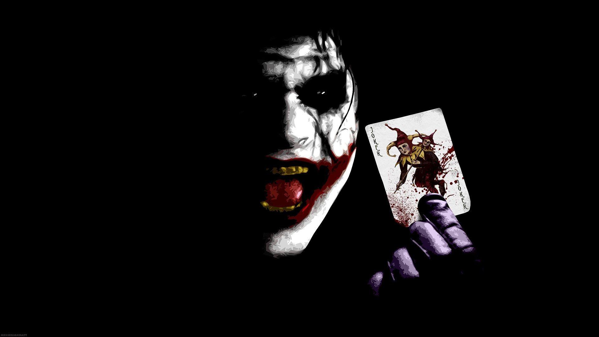 Joker Wallpaper in Dangerous Mod with Joker card. on