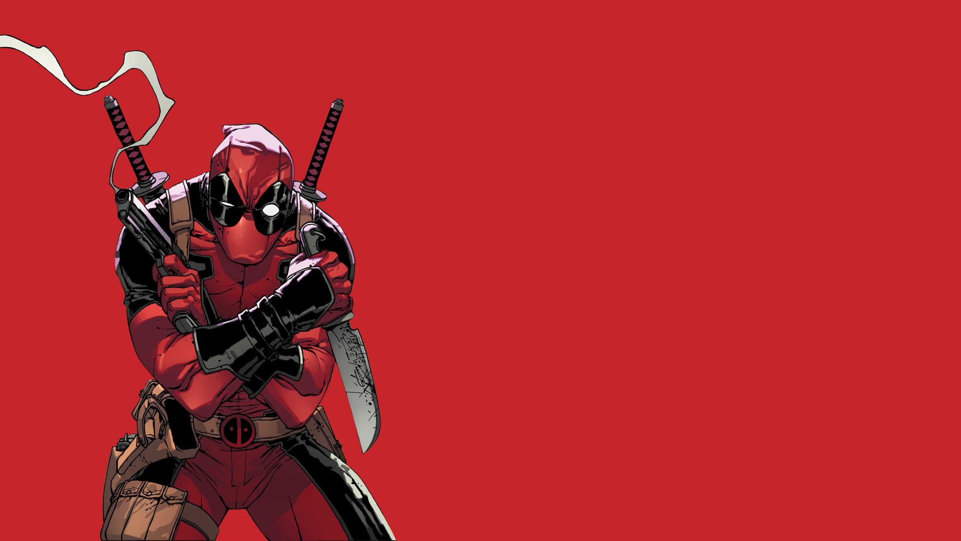 Deadpool Full HD Wallpaper 1920×1080