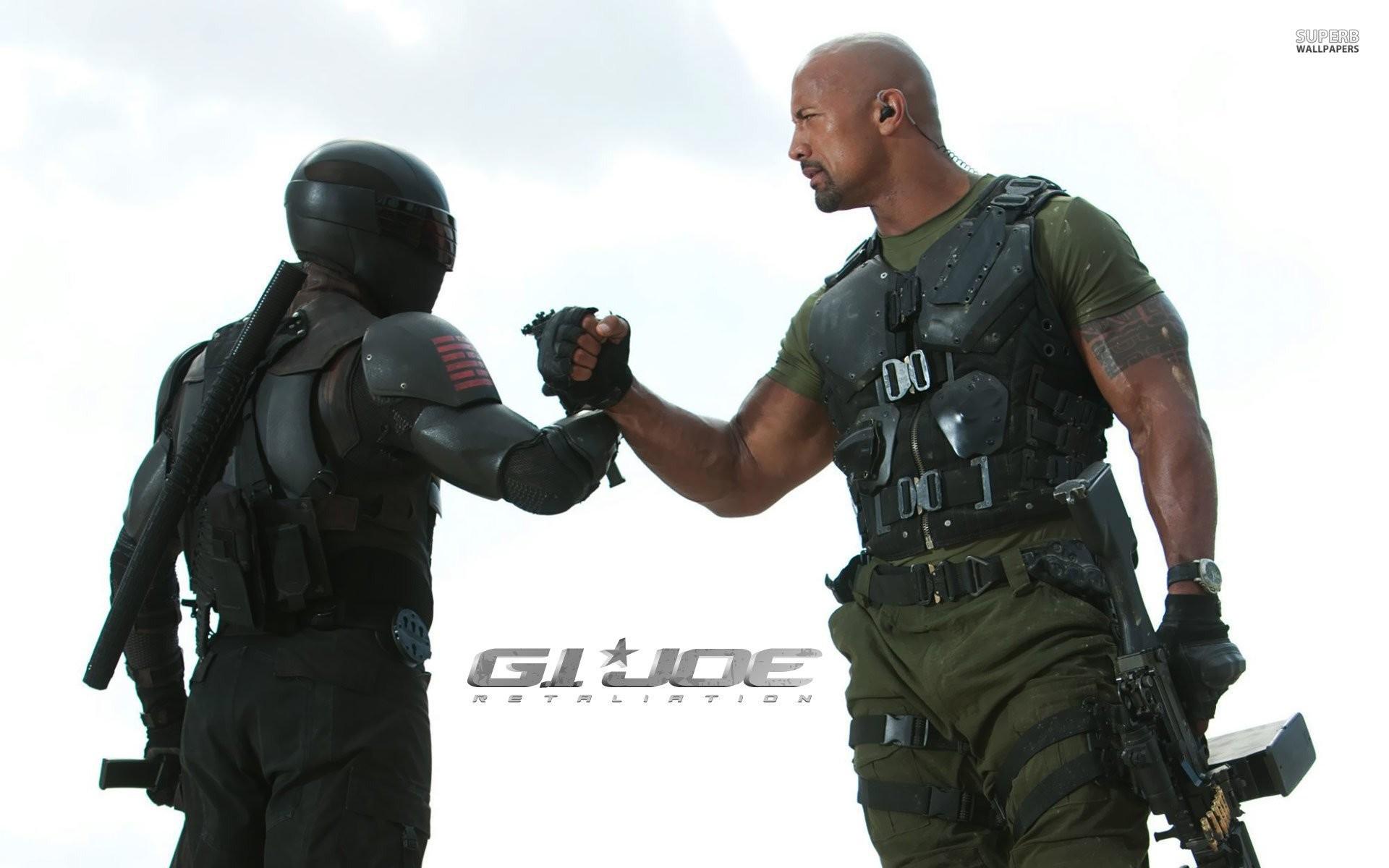 Roadblock And Snake Eyes – G.I. Joe Retaliation 506892