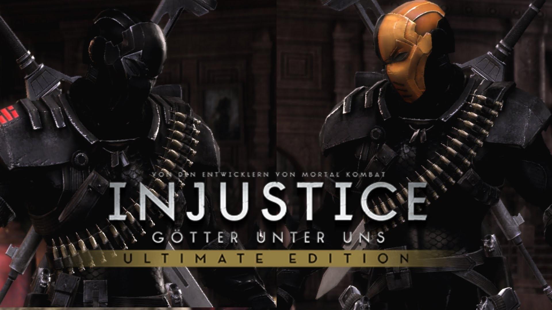 Injustice Ultimate Edition PC | Deathstroke (Snake Eyes) vs Deathstroke  (Arrow Season 2) Skin Mod – YouTube