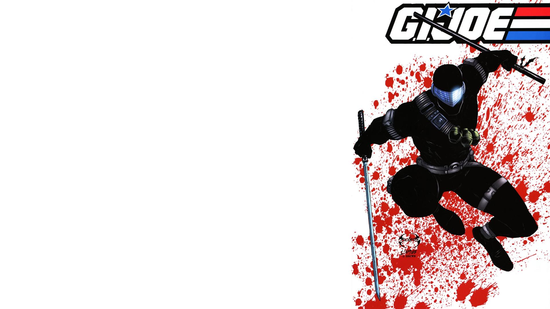 GI Joe Snake Eyes White Blood Sword Katana wallpaper | | 78744 |  WallpaperUP