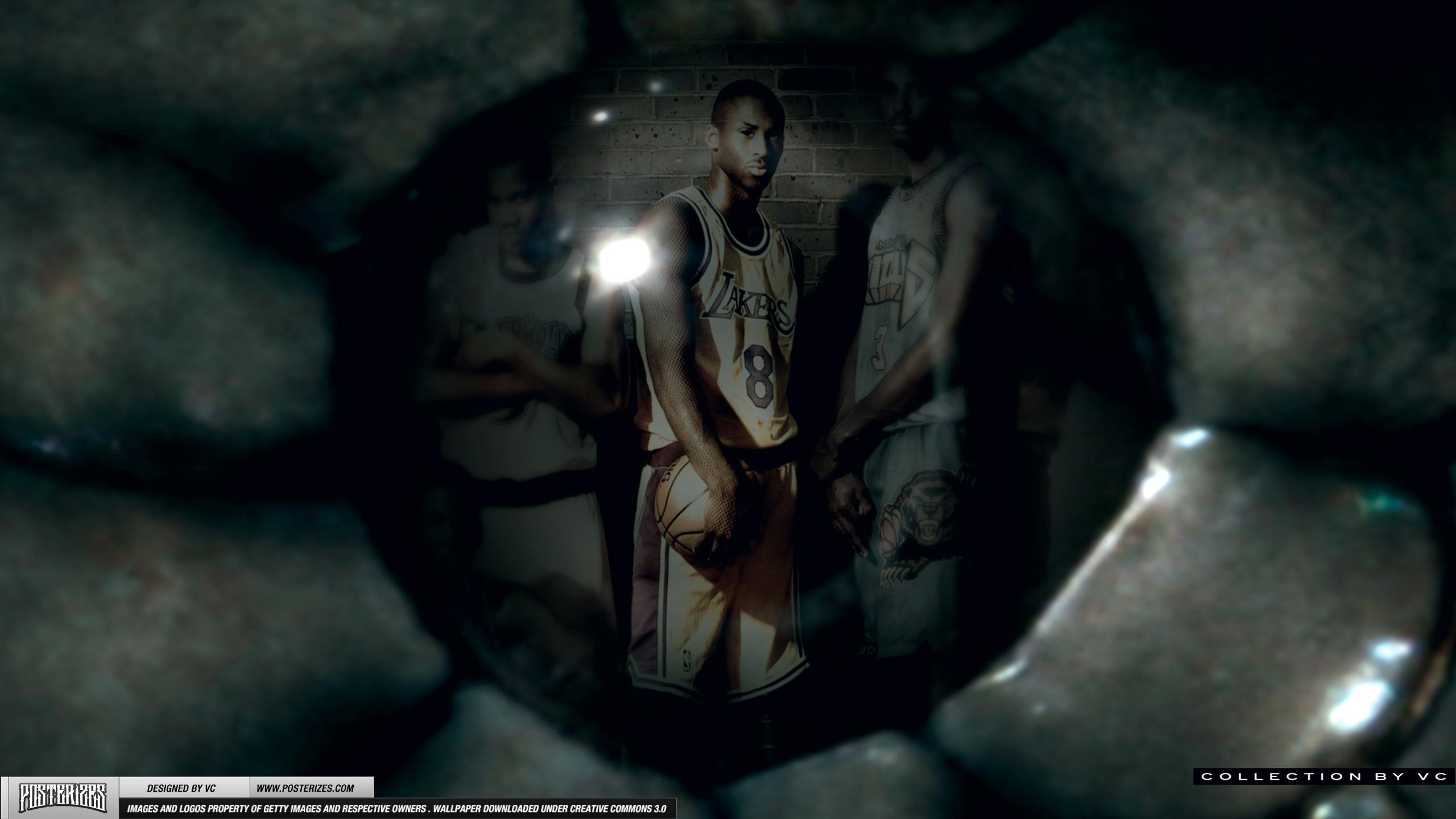 Kobe Bryant 'Eye of the Mamba' Wallpaper