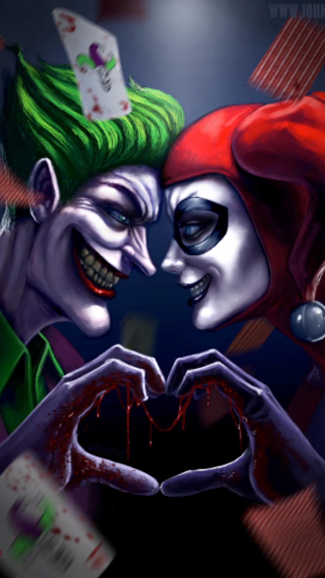 Joker and Harlequinn Wallpaper