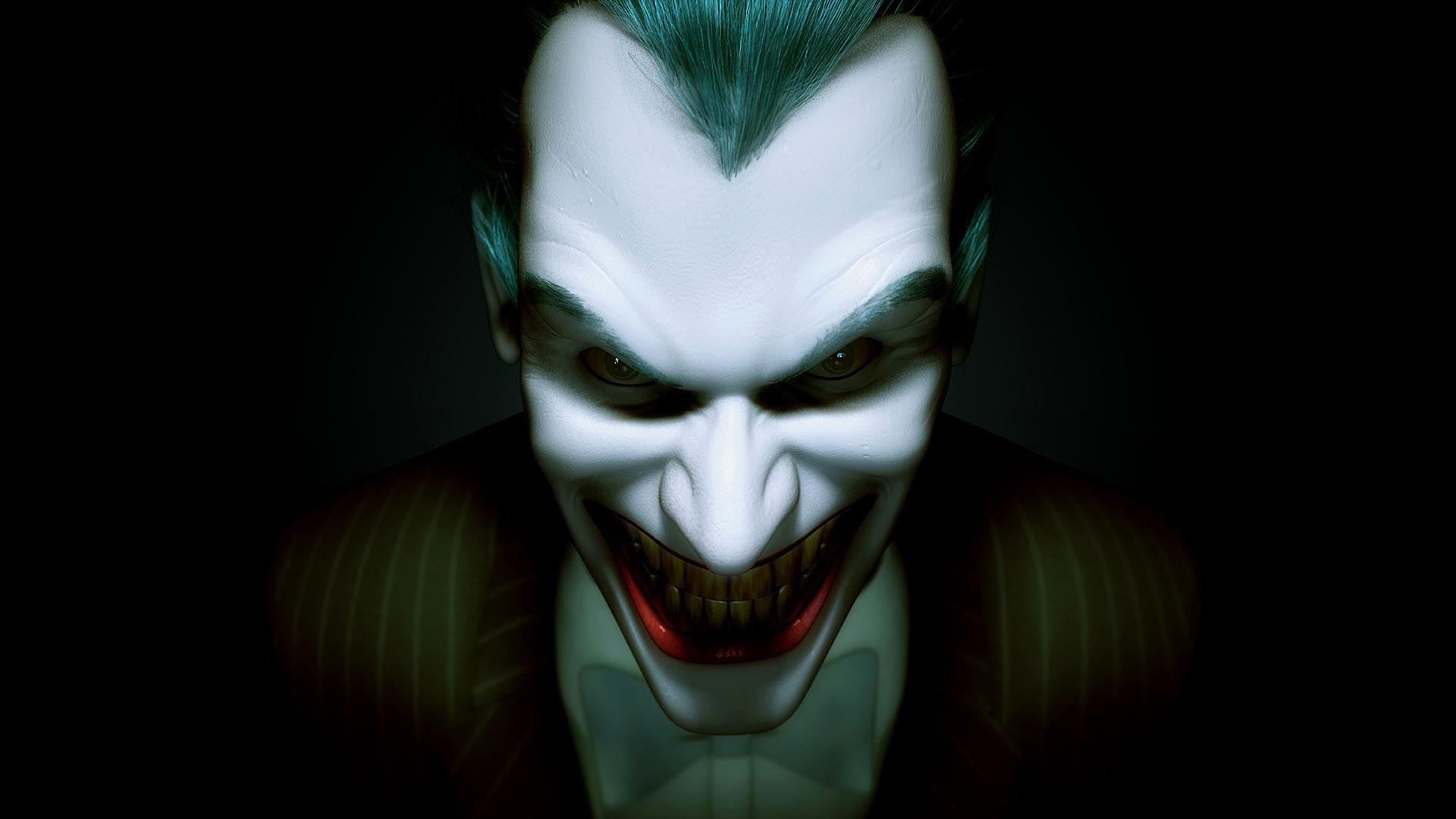 Joker Face Wallpaper Credited