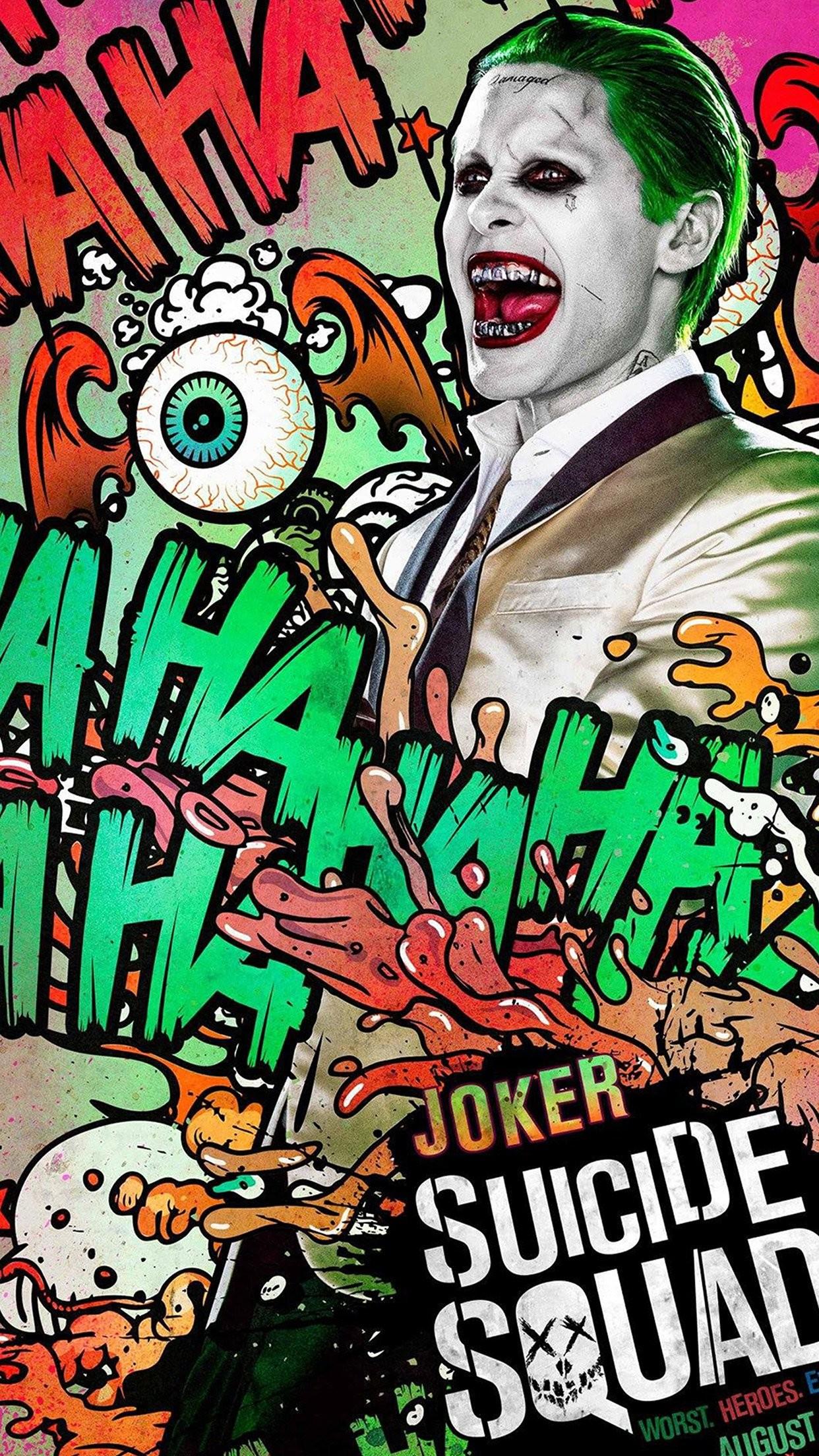 cool suicide-squad-film-poster-art-illustration-joker-iphone6