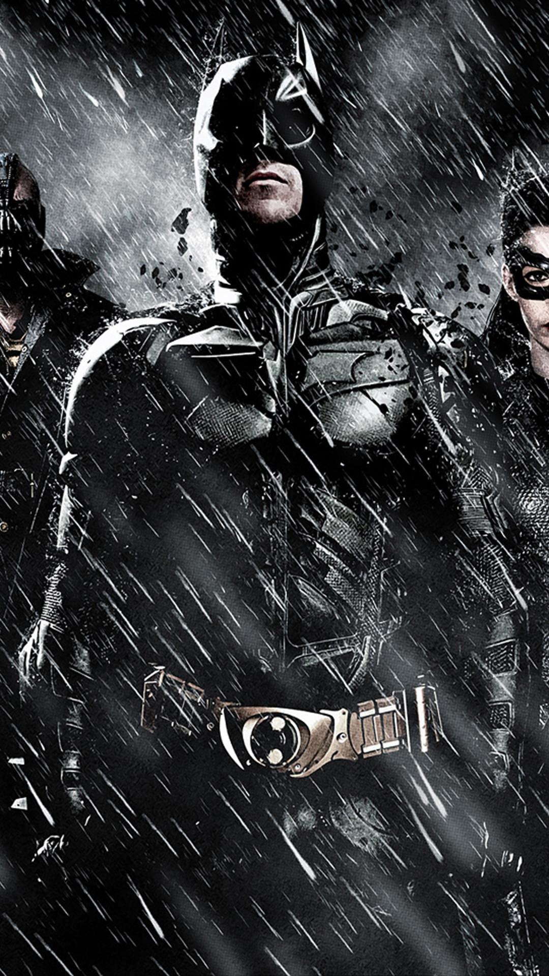 iPhone 6 plus Batman tdkr Games wallpaper.